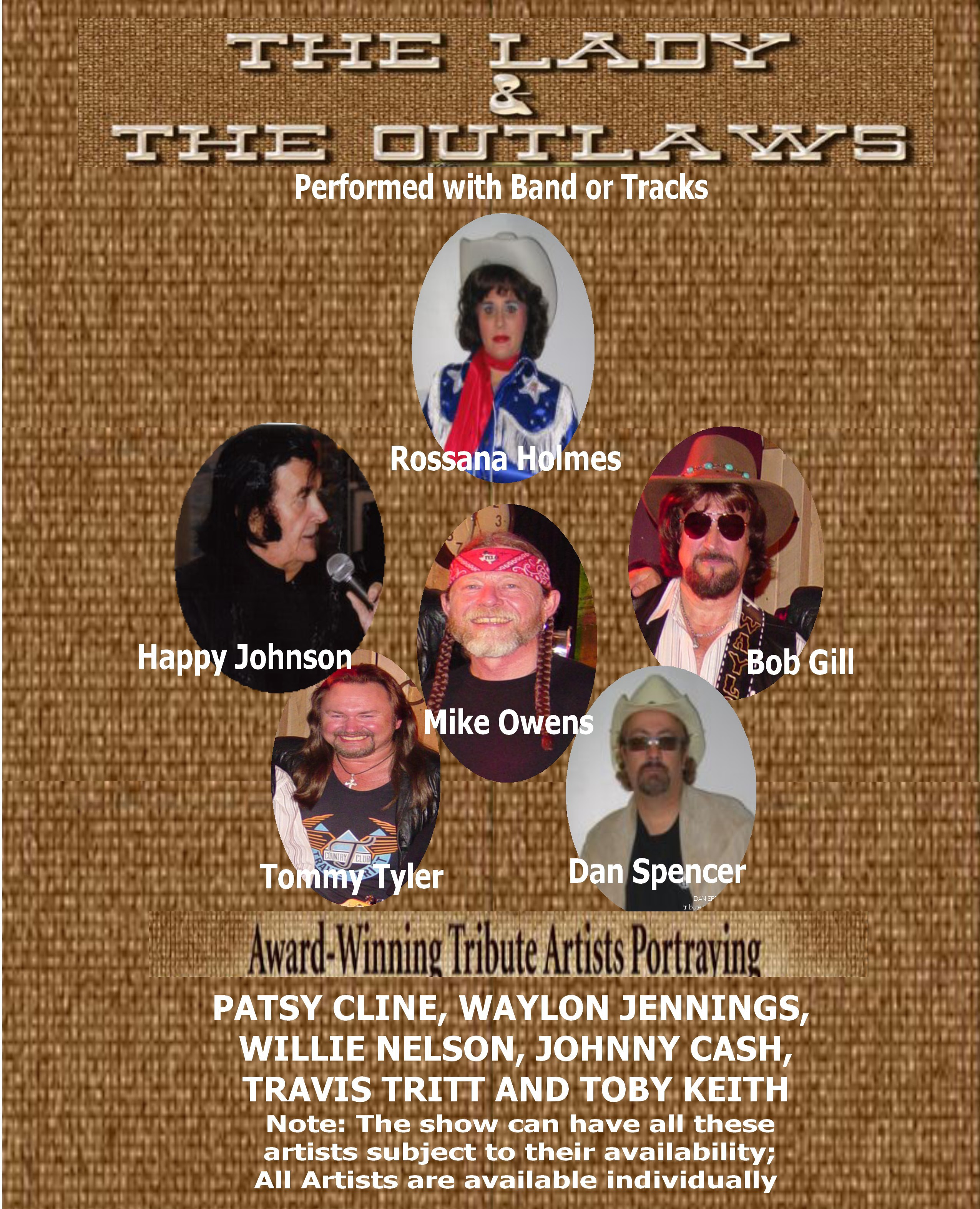 THE LADY AND THE OUTLAWS